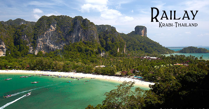 Railay Krabi Thailand
