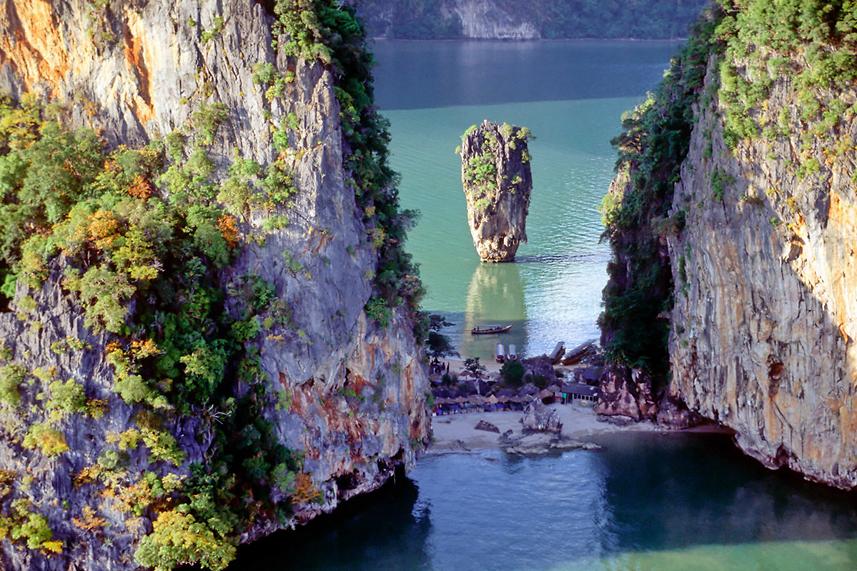 Phang Nga Bay - Ao Phang Nga National Park - Phang Nga Bay ...