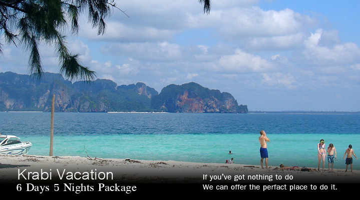 krabi package tour 3 days 2 night 4 days 3 nights 5 days 4 nights safe rh krabi tourism com